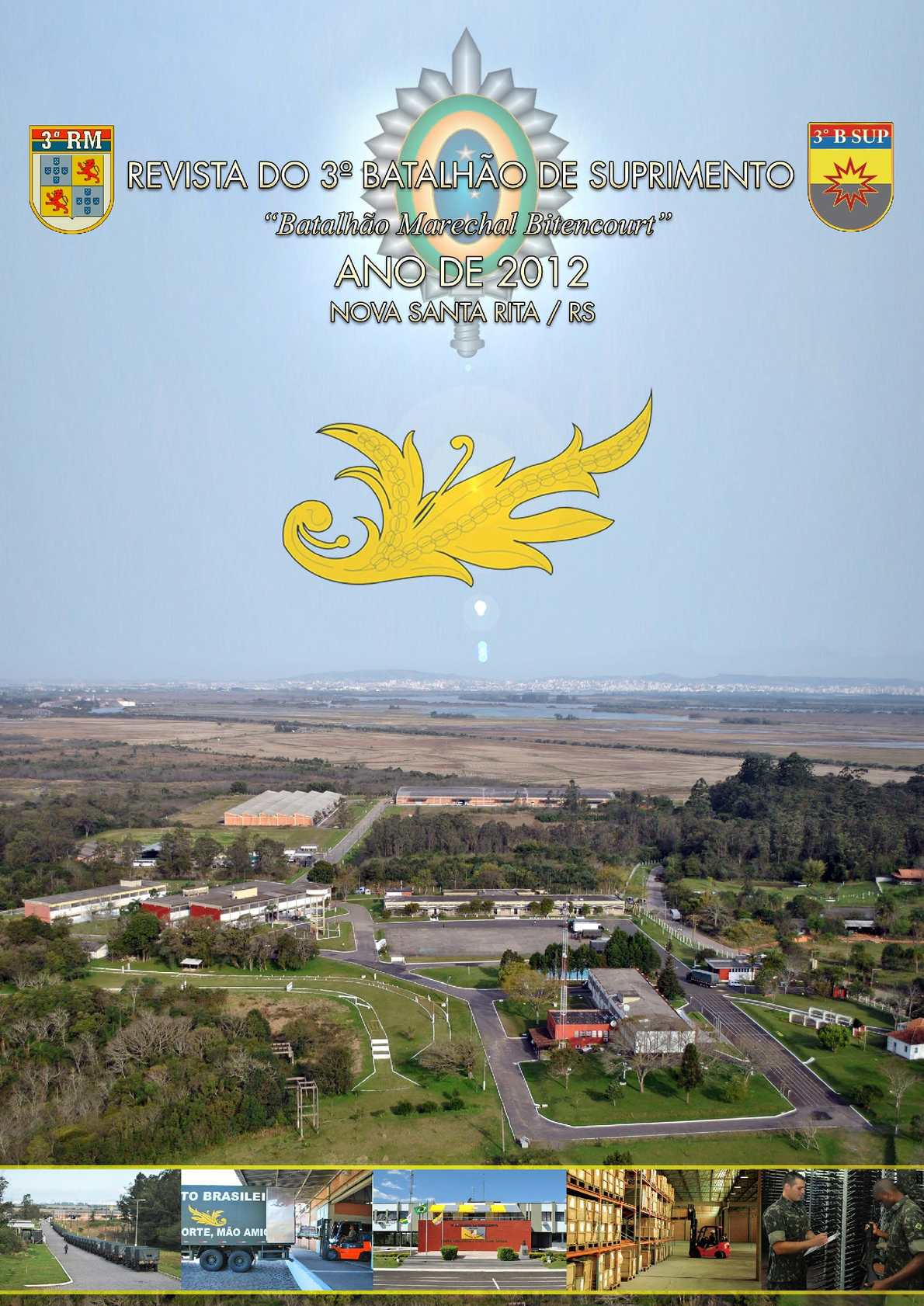 3º Batalhão de Suprimento - Revista 2012
