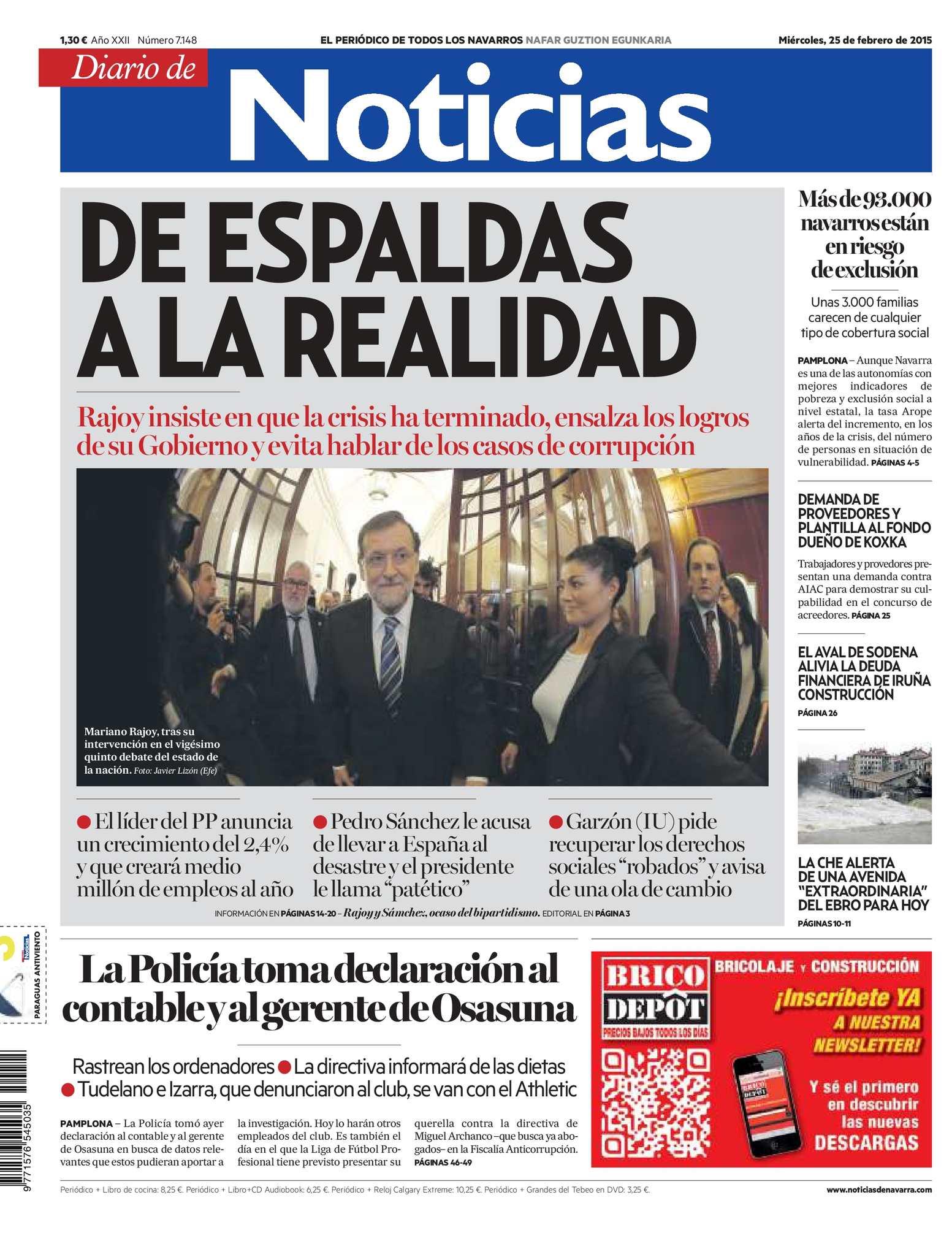 Calaméo - Diario de Noticias 20150225