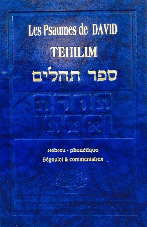 Tehilim Plaquette Definitive 52 Pages