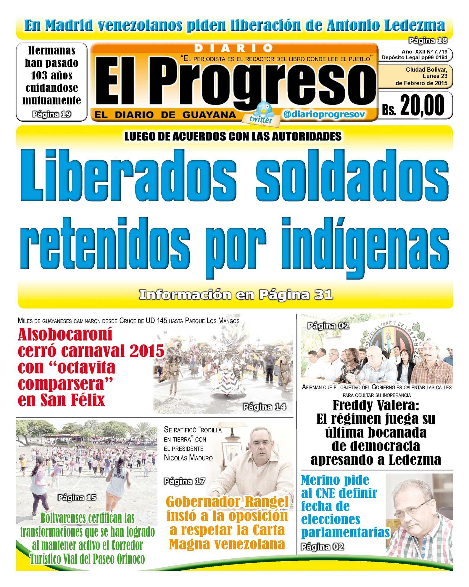 Calaméo - DiarioelprogresoEDICIÓNDIGITAL 23-02-2015