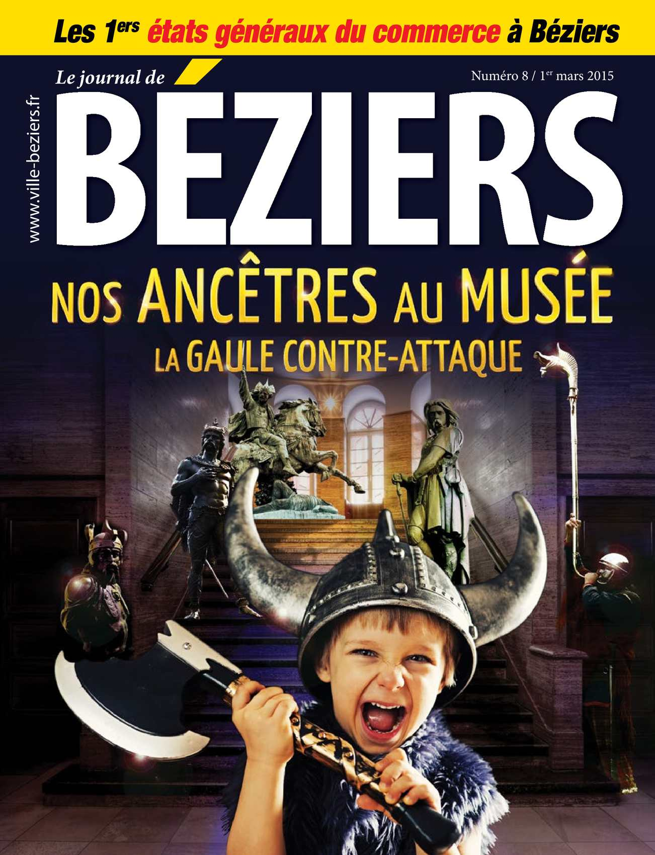 Calam o journal de beziers n 8 mars 2015 for Piscine municipale beziers