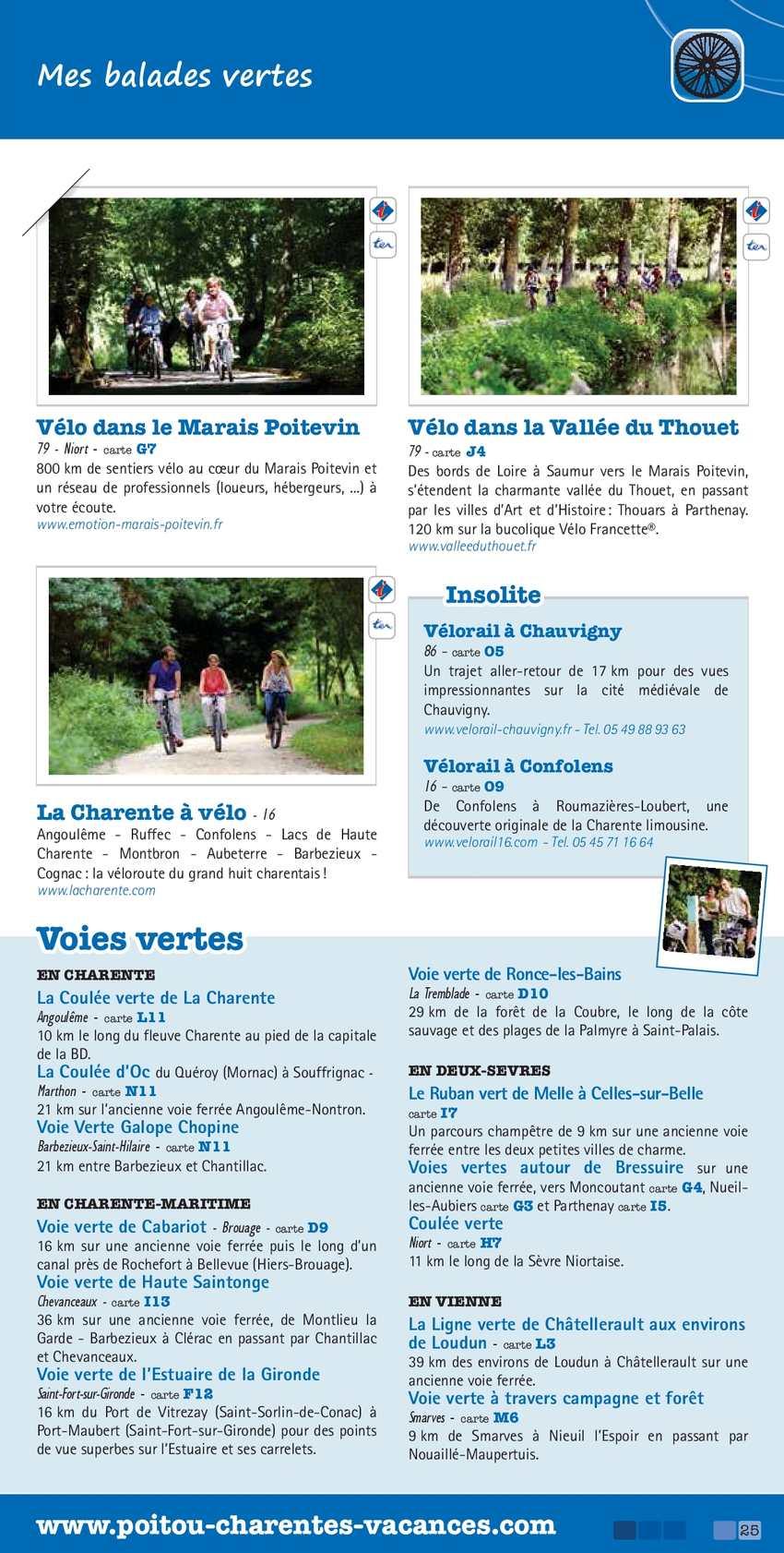 France Poitou Charentes Escapades 2013