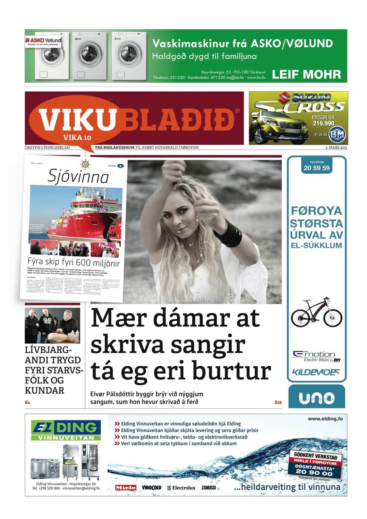 Vikublaðið 2. marts 2015