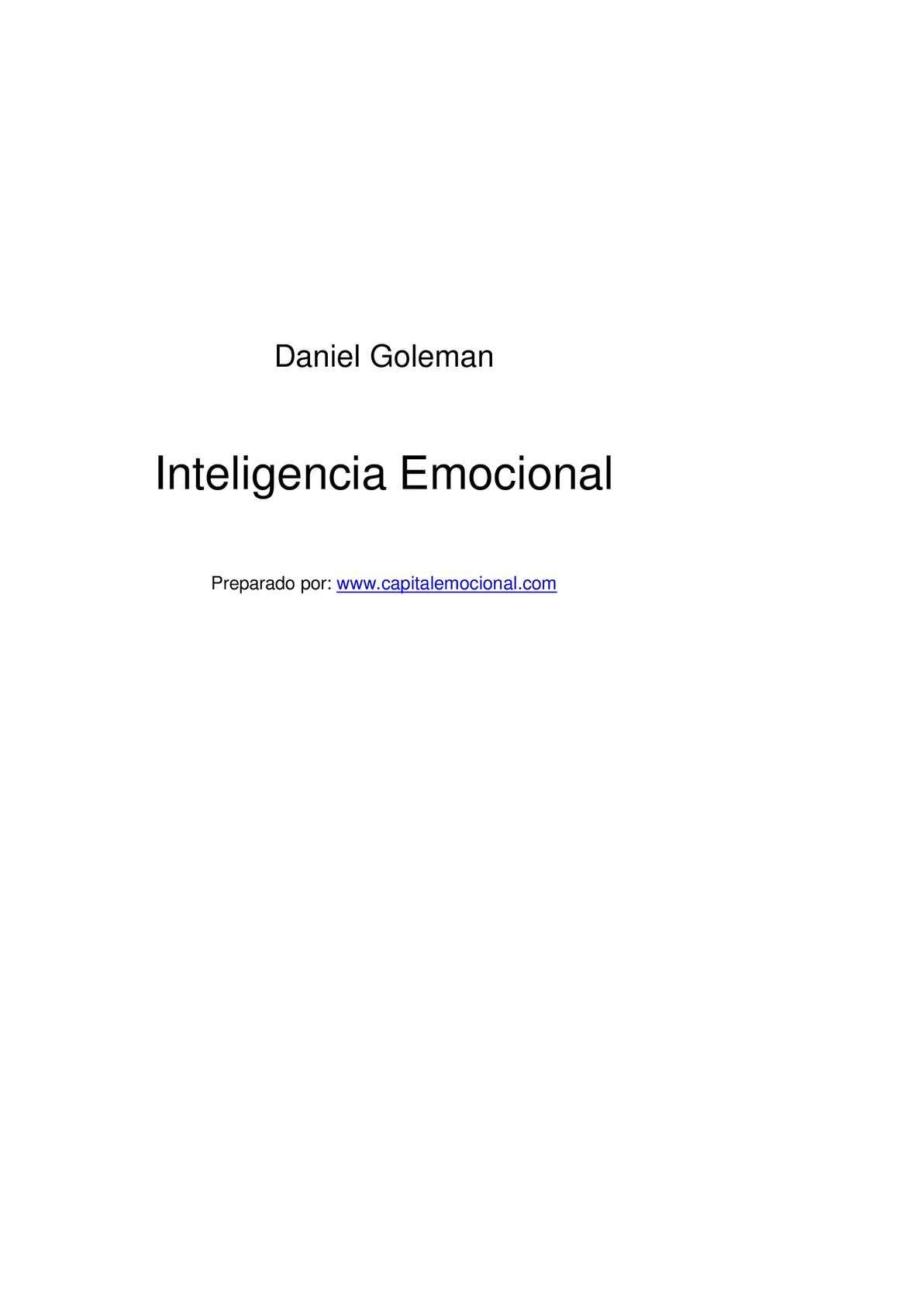 Calaméo - Inteligencia Emocional Daniel Goleman