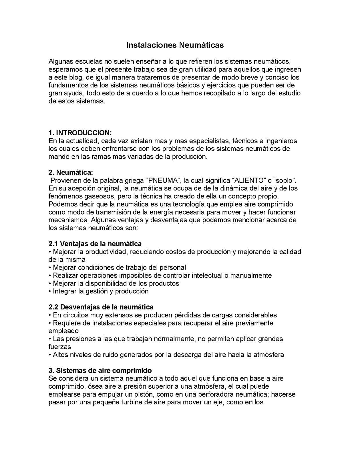 Circuito Neumatico Basico : Calaméo instalaciones neumaticas