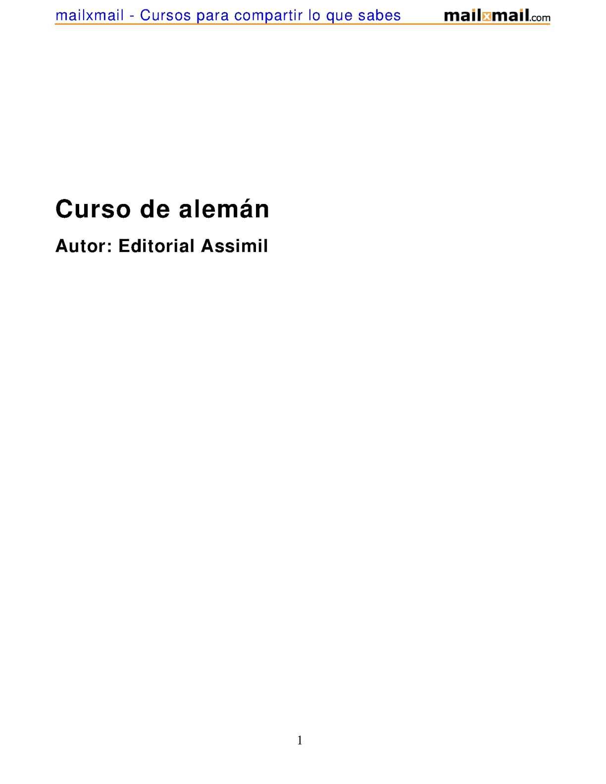Curso Aleman 402 Completo