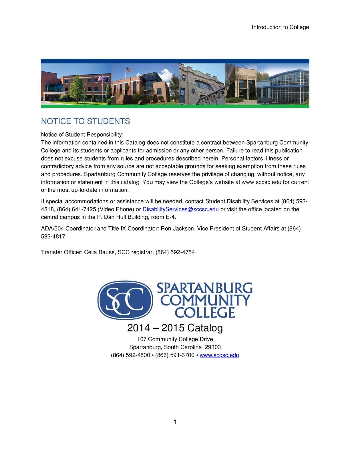 Calamo spartanburg community college 2014 2015 catalog fandeluxe Choice Image