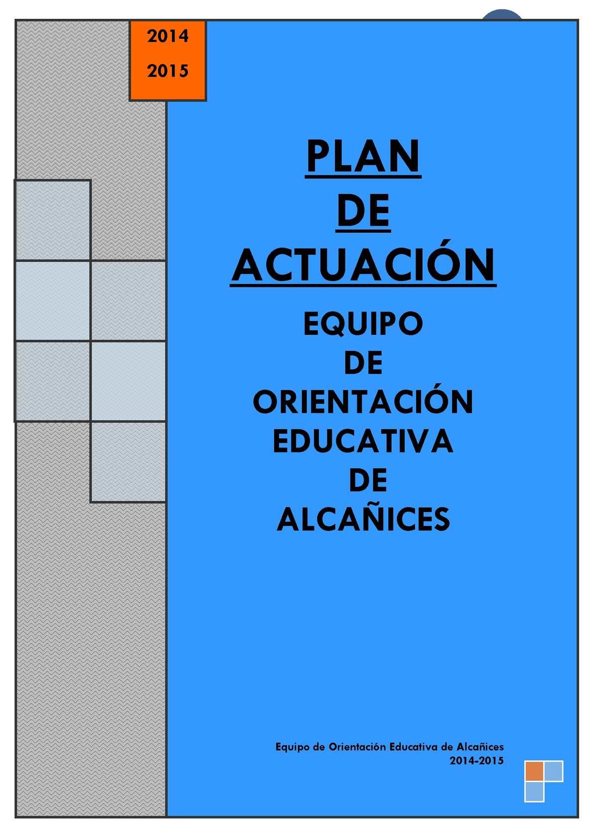 PLAN ACTUACIÓN EOEP 2014-2015