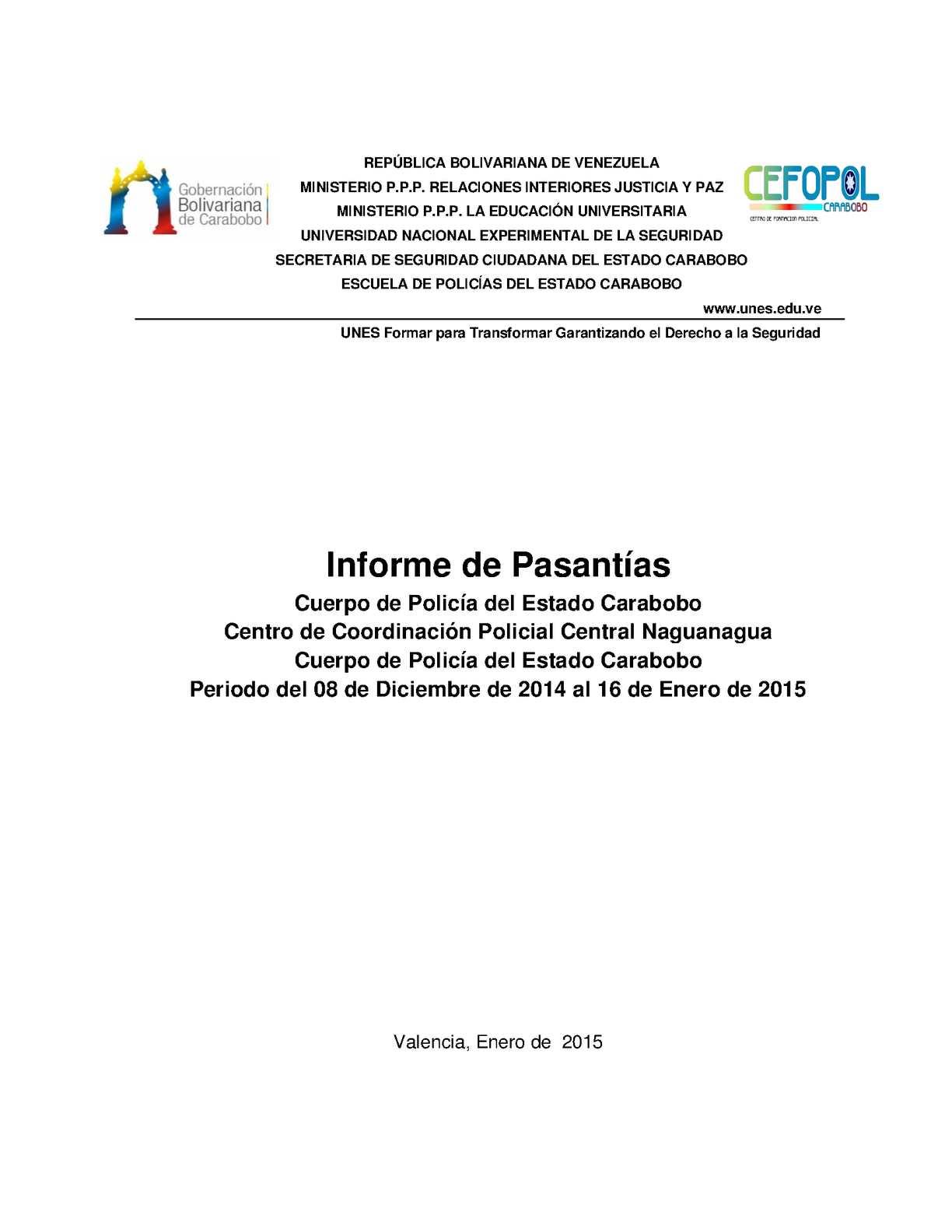 Calaméo - GUÍA INFORME DE PASANTÍAS