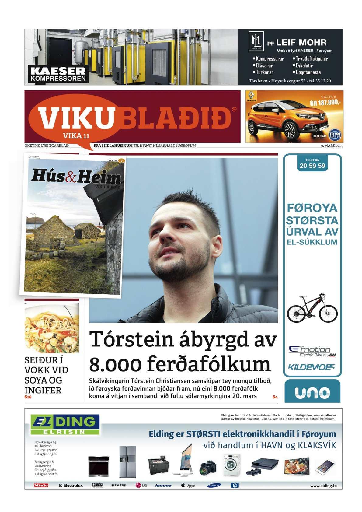 Vikublaðið 9. marts 2015