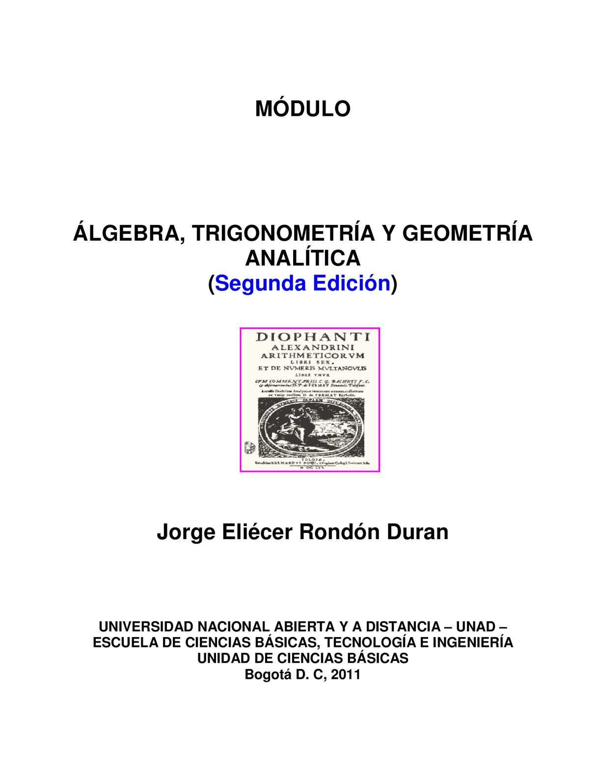 Calaméo - Modulo Algebra Trigonometria Y Geometria Analitica 2011