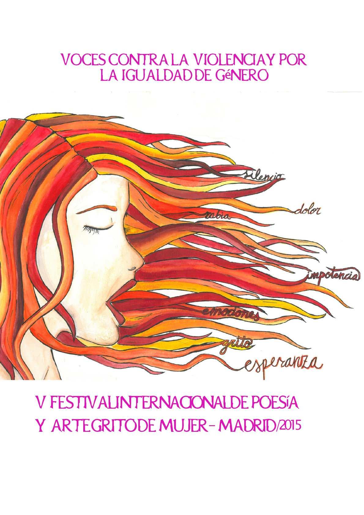 Calaméo - Poemas Grito Mujer Madrid 2015