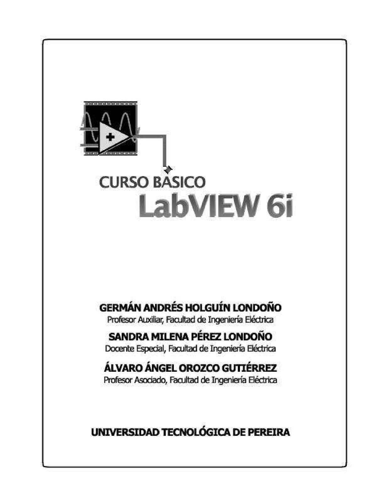 Curso Lab View6i