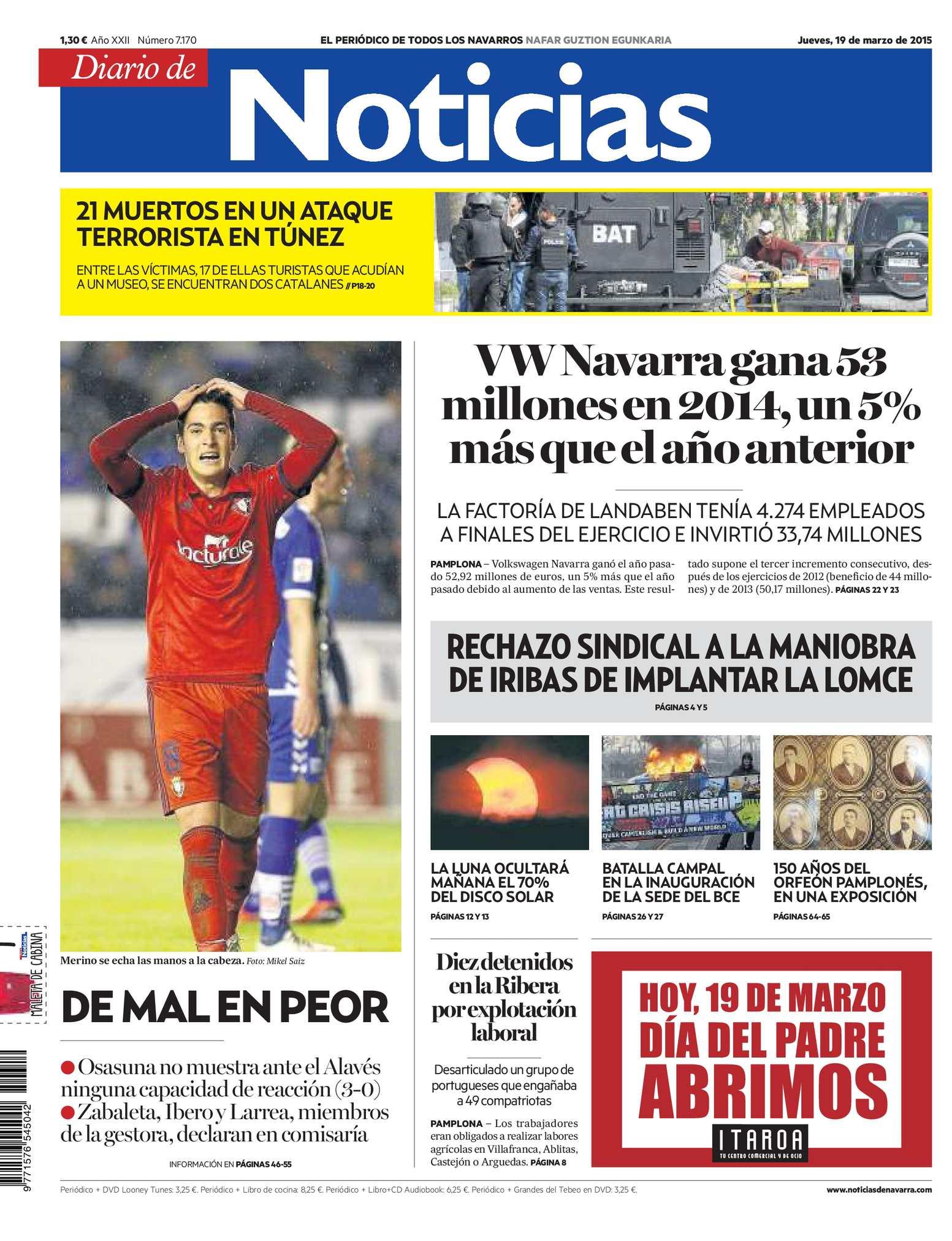 Calaméo - Diario de Noticias 20150319