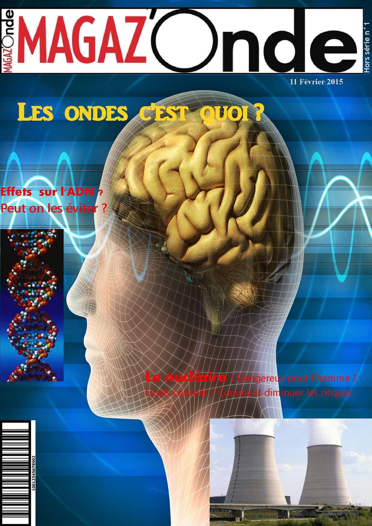 Calam o magazine tpe s les ondes et les hommes - Le sel et les ondes negatives ...