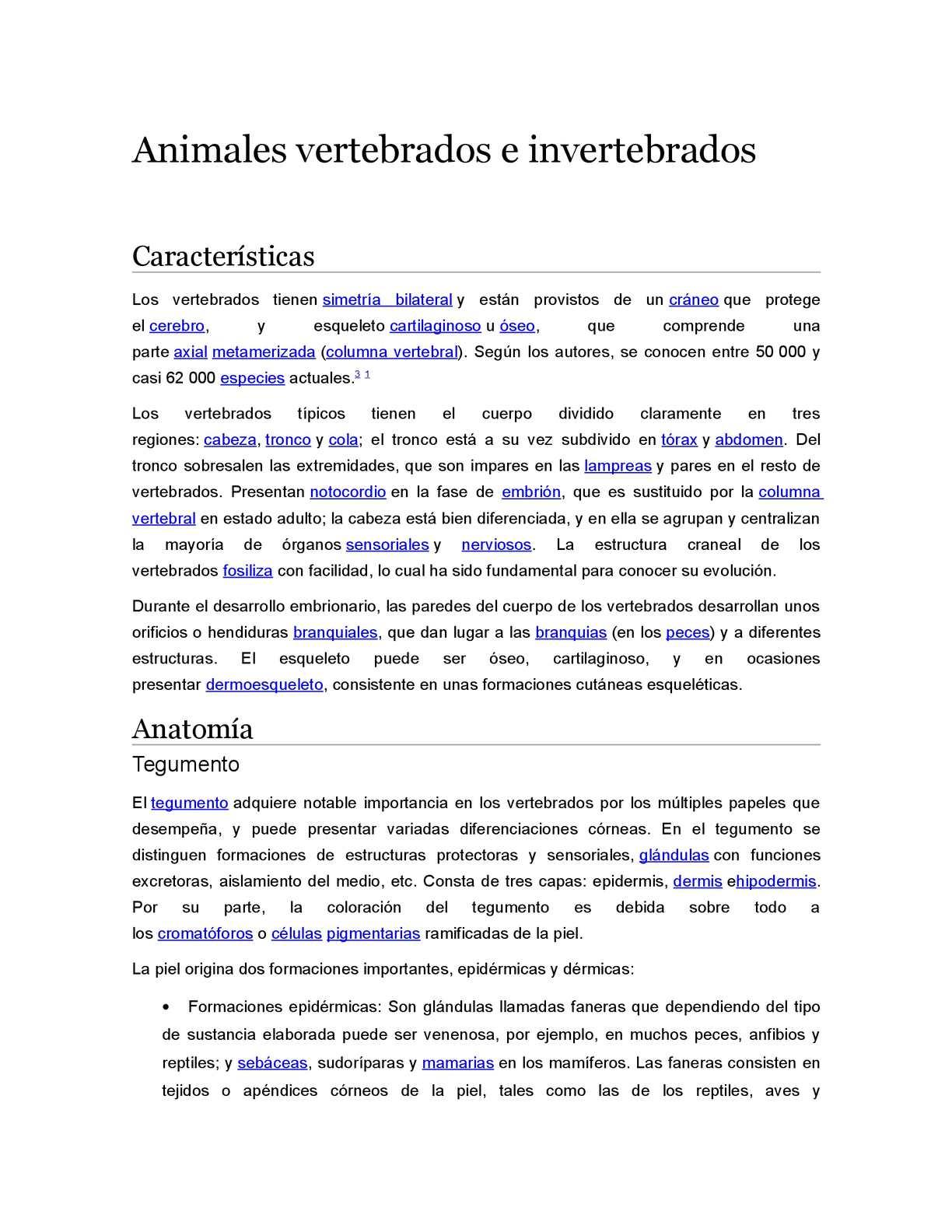 Calaméo - Animales Vertebrados E Invertebrados