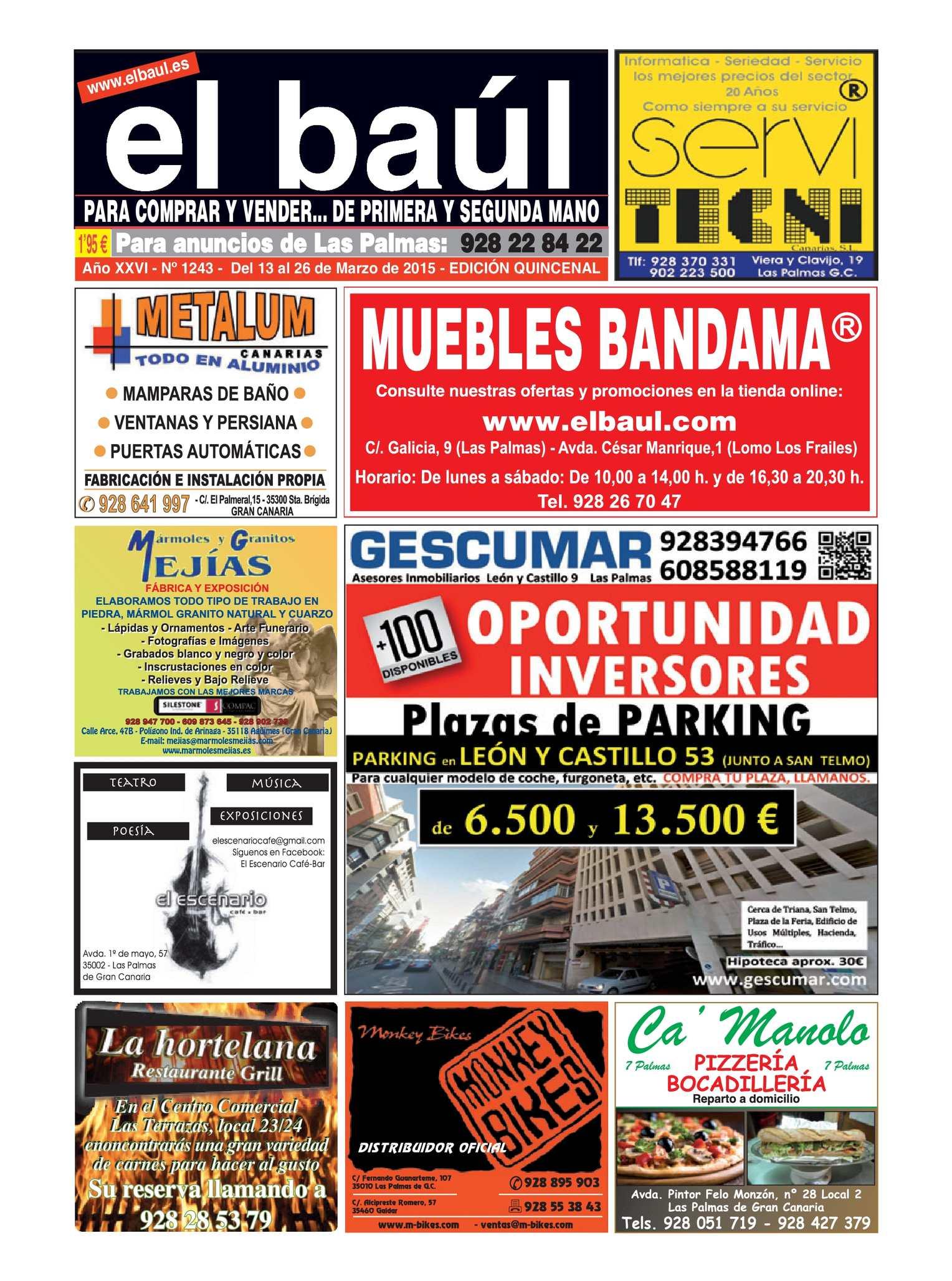 Calaméo - Periódico El Baúl - Las Palmas - Edición 1243 623266b8c959