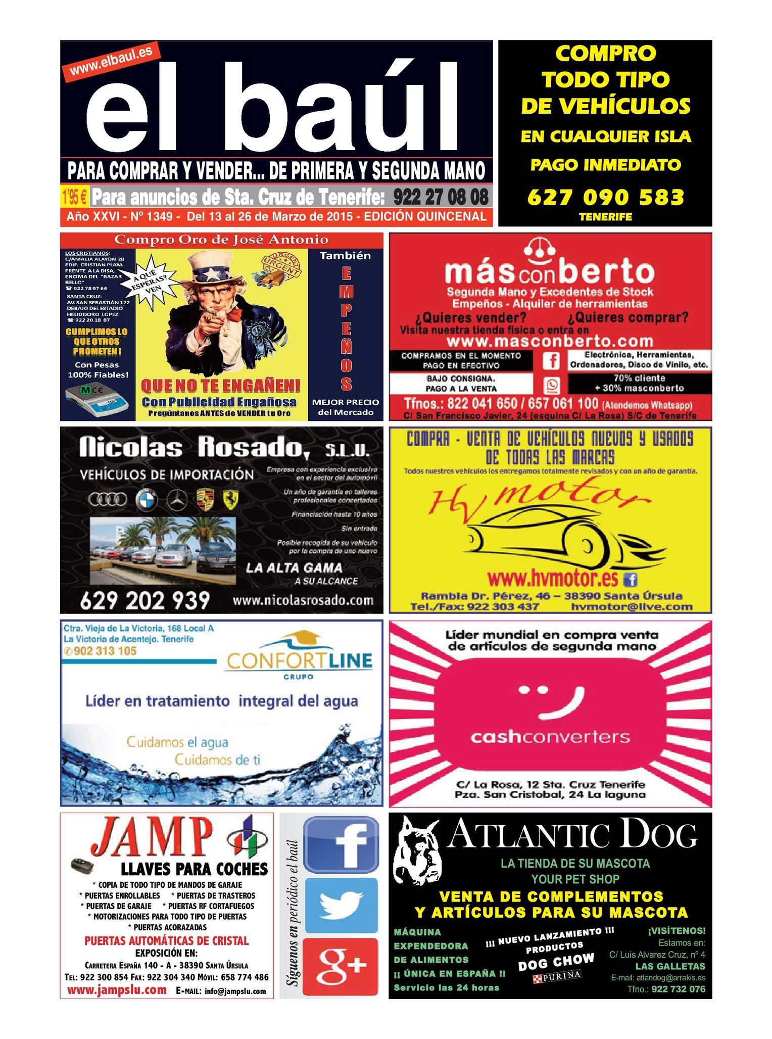 Calaméo - Periódico El Baúl - Santa Cruz de Tenerife - Ed. 1349 d98dabbe0181