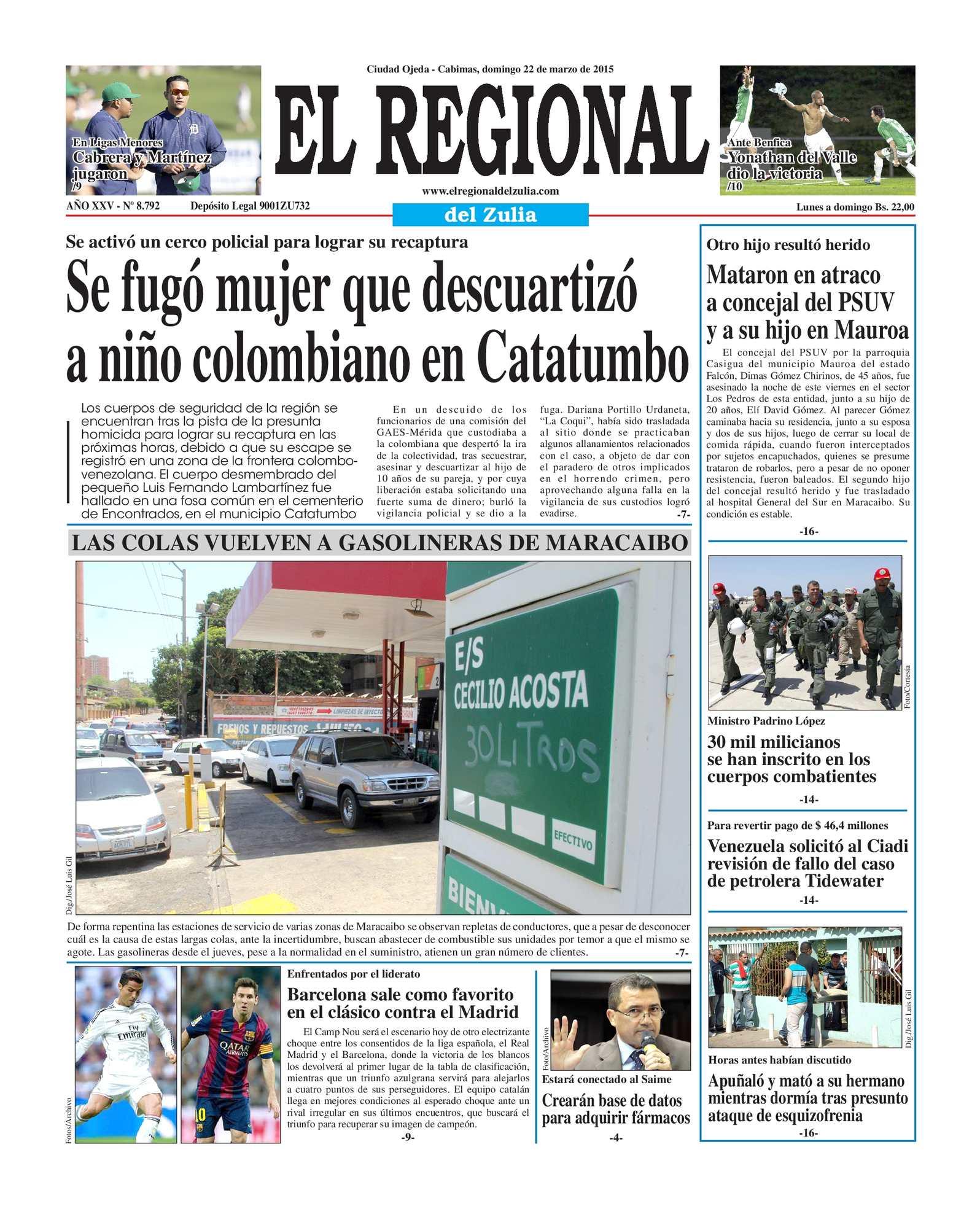 Calaméo - El Regional del Zulia 22-03-2015