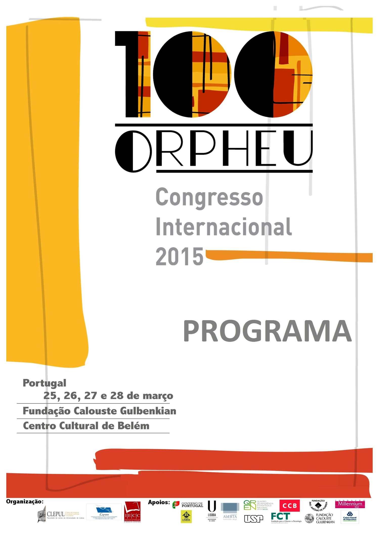 100 Orpheu Programa