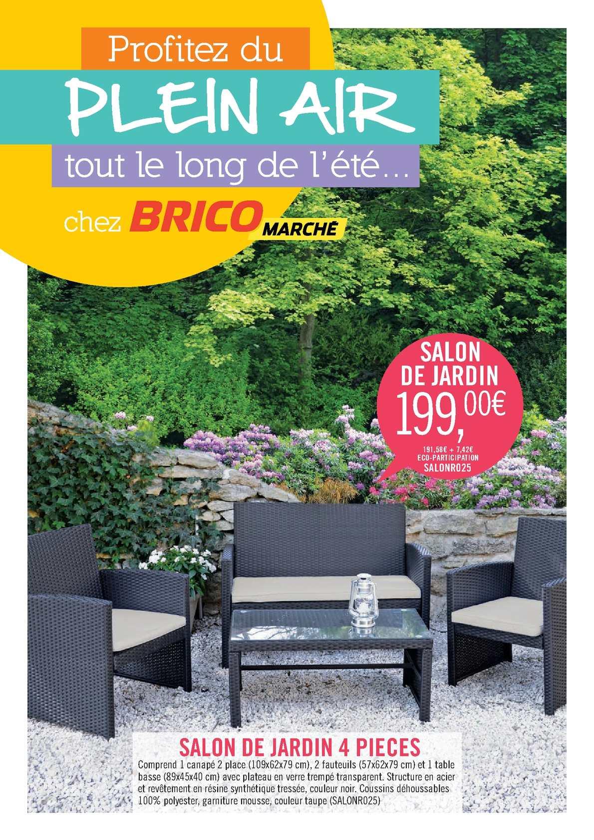 calam o salon de jardin pont audemer pensez bricomarch. Black Bedroom Furniture Sets. Home Design Ideas