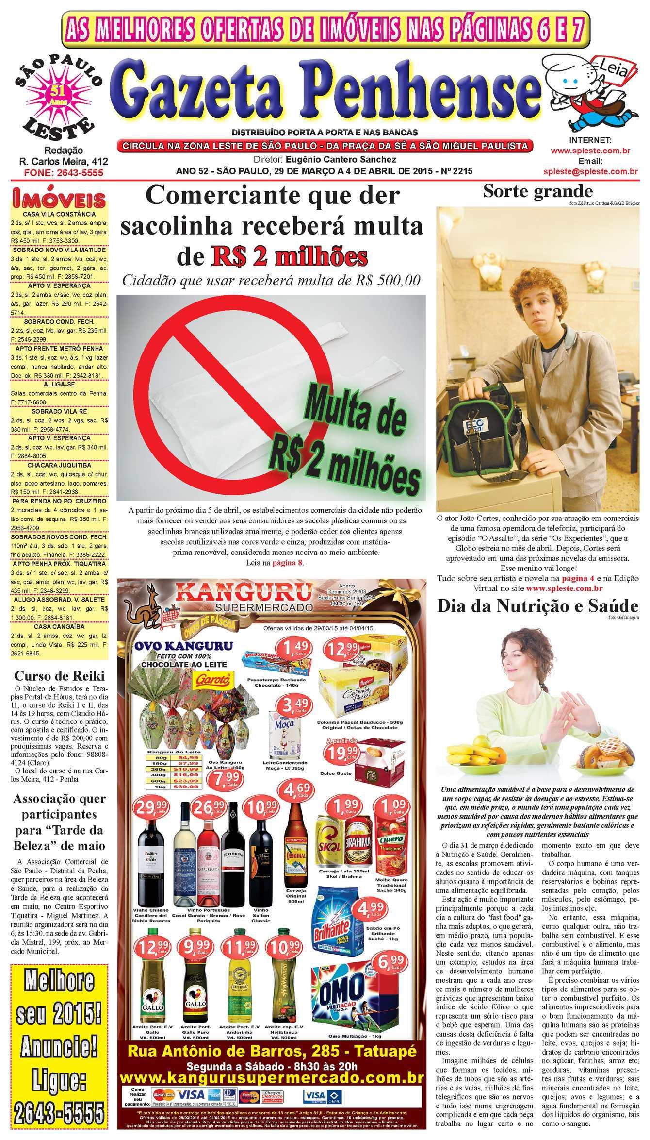 Calaméo - Gazeta Penhense - edição 2215 - 29 03 a 04 04 15 ae78367b04