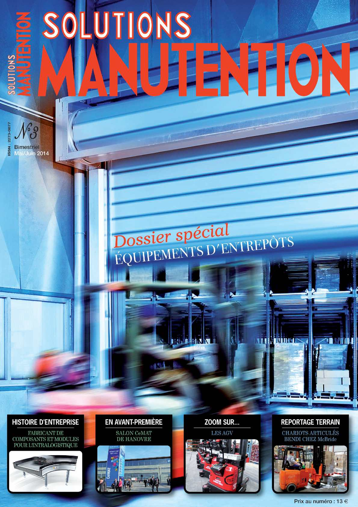 Calam o solutions manutention n 3 for Salon de la manutention