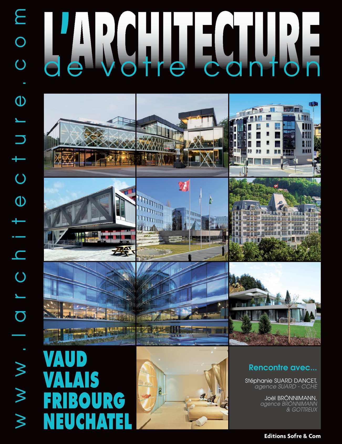 Calam o l 39 architecture de votre region suisse 268 for Agence architecture suisse