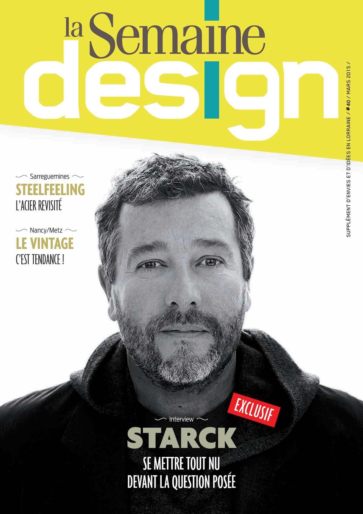 Supplément Design 2015 - La Semaine