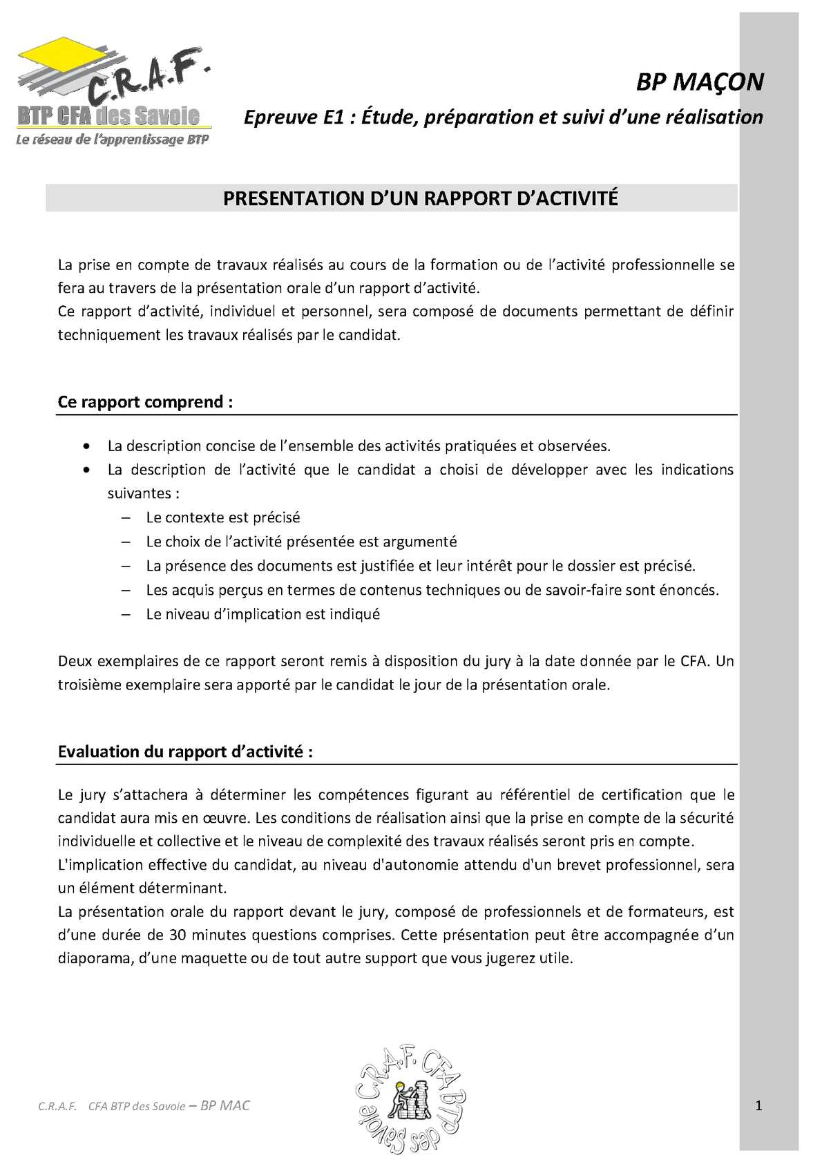exemple cover letter