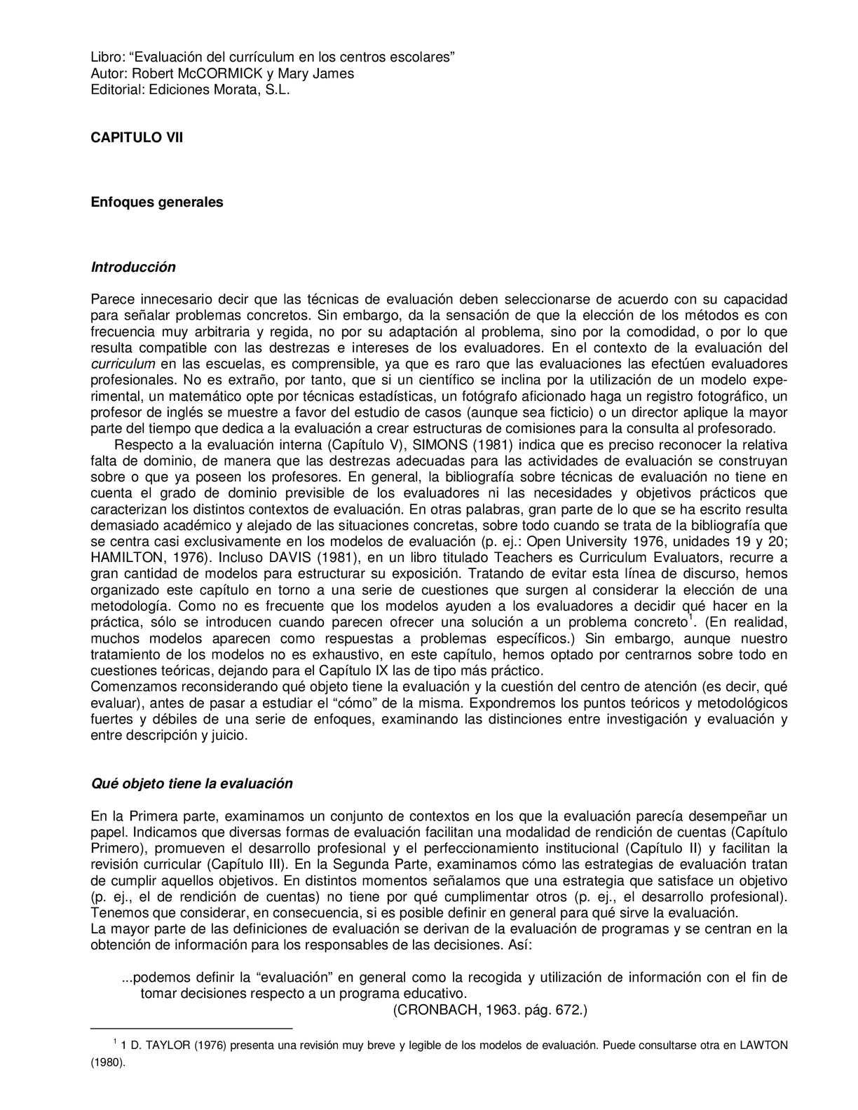 Calaméo - Evaluación Del Currículum En Los Centros