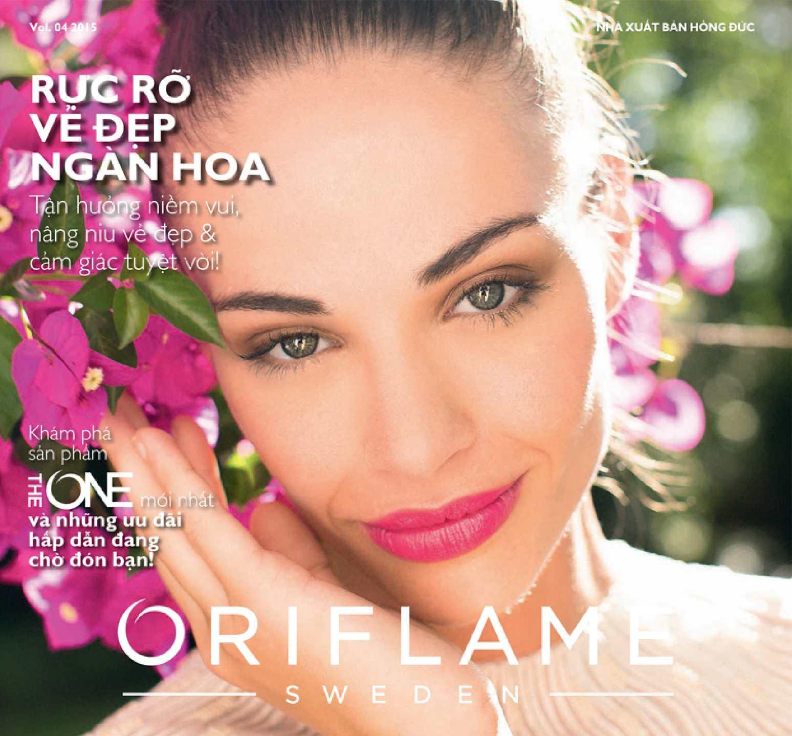 Catalogue My Pham Oriflame 4-2015