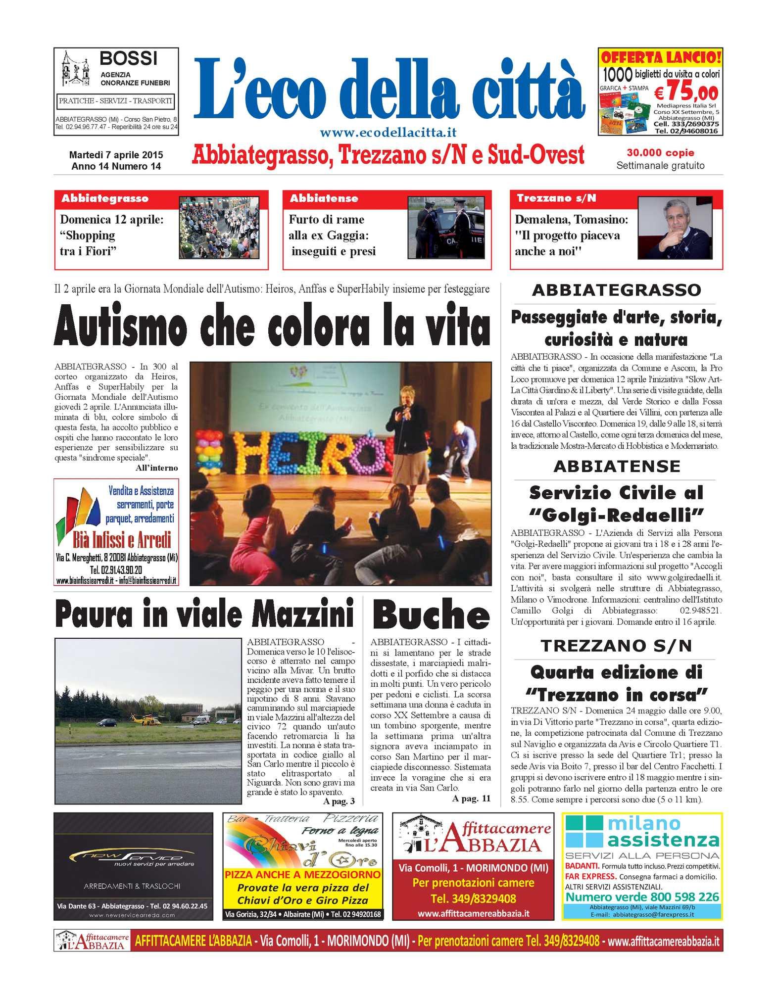 Calaméo - L eco della città del 7 aprile 2015 506443ae3ca6