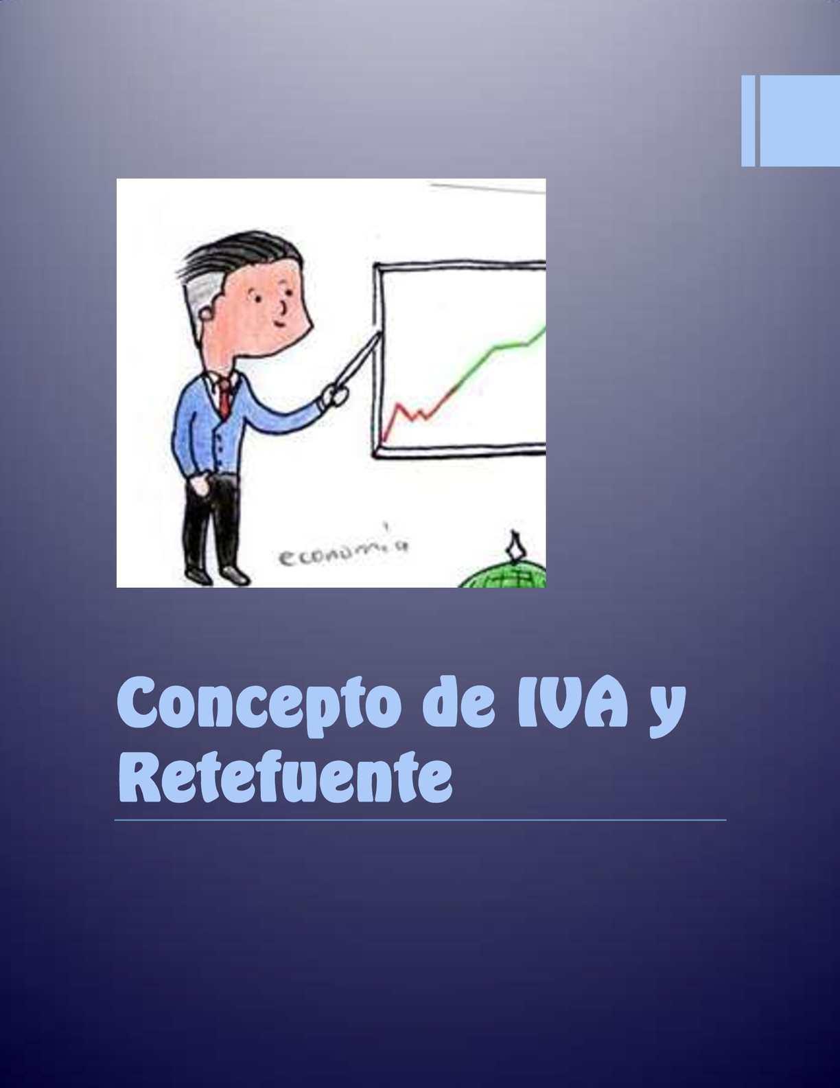 Concepto De Iva Y Retefuente
