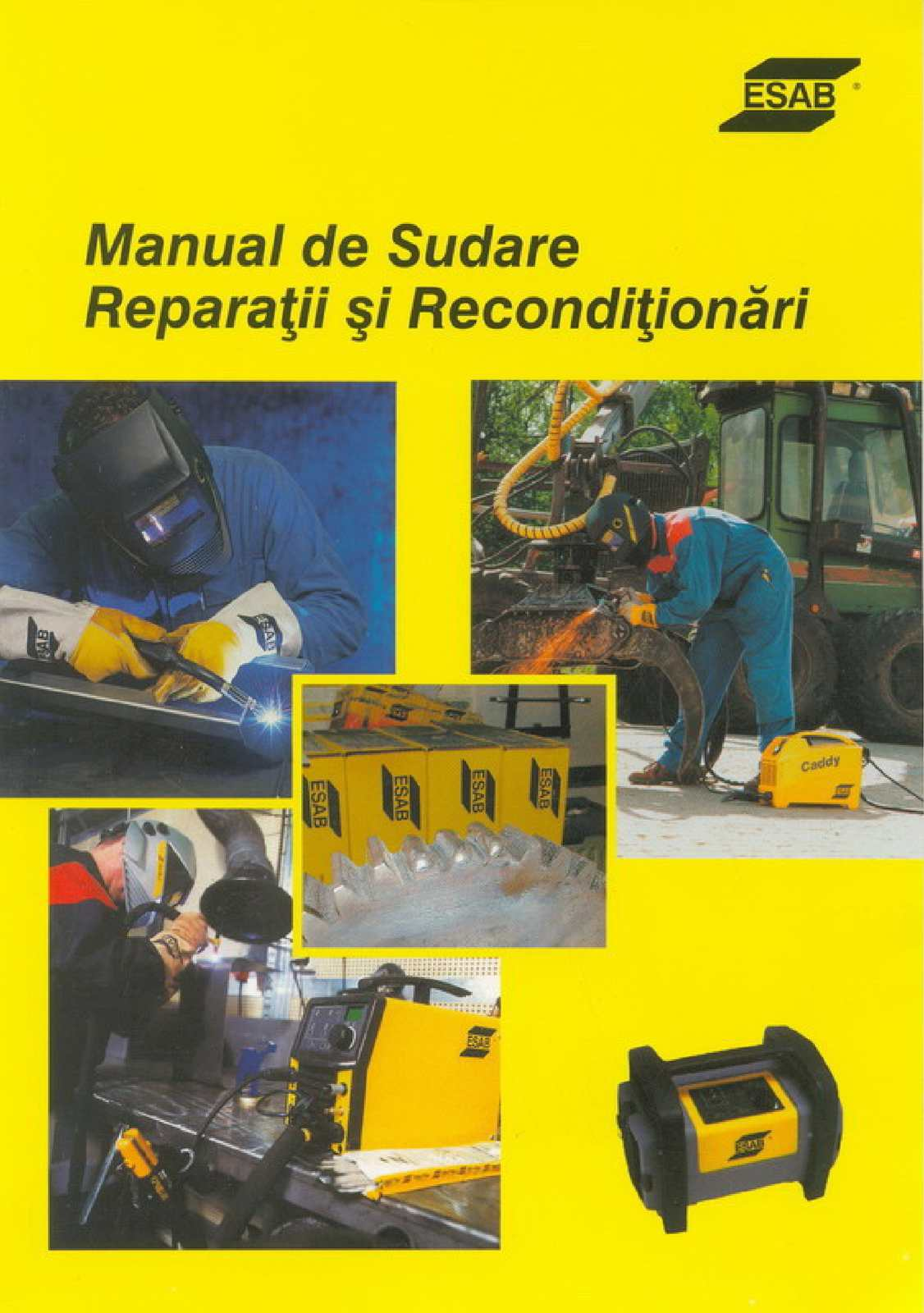 Manual de sudura reparatii si reconditionari Esab (Ro)