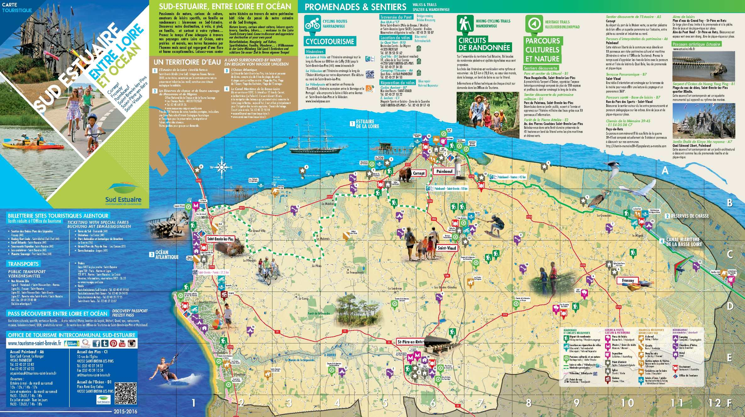 Calaméo Carte touristique Sud Estuaire