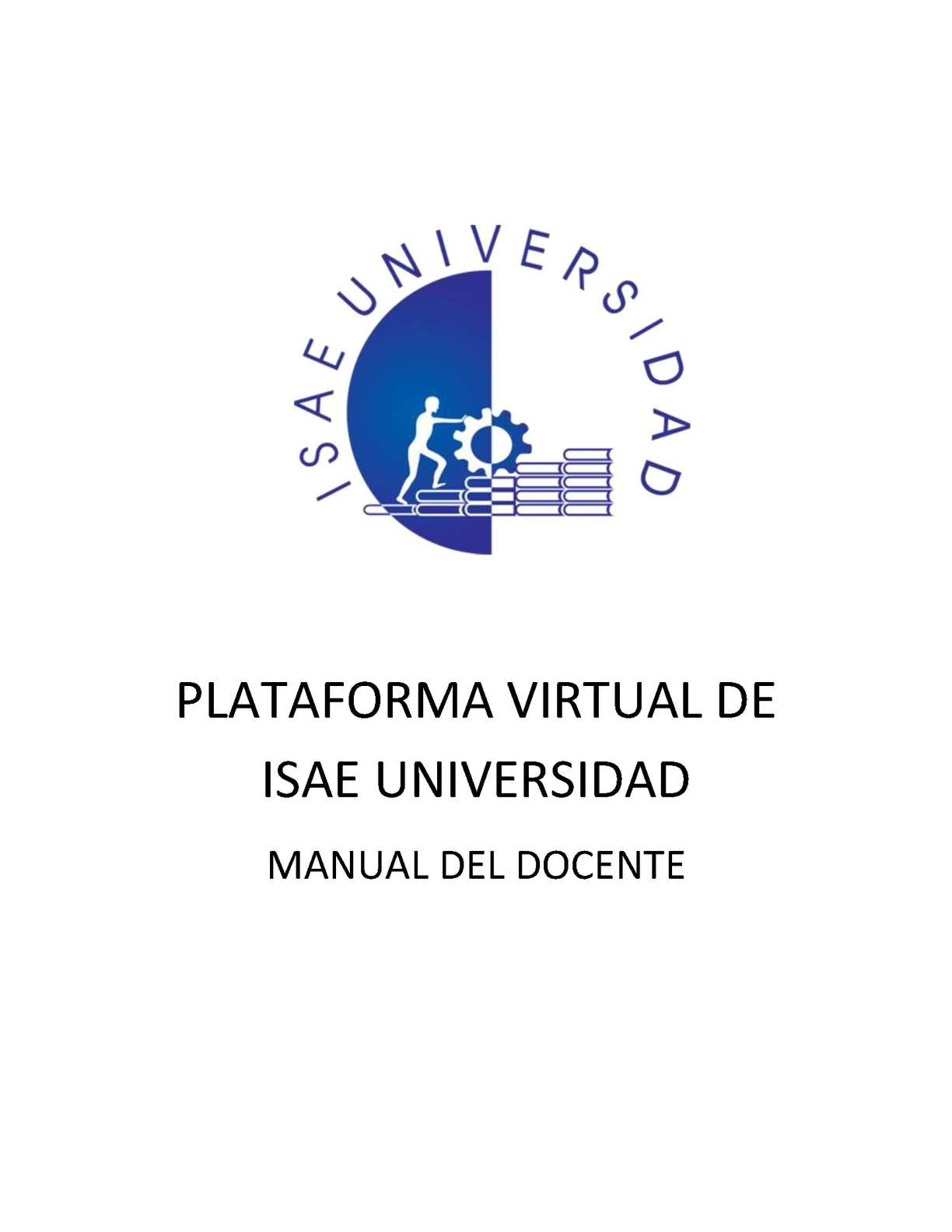 Calaméo - Manual Del Profesor Plataforma Virtual Isae Universidad ...