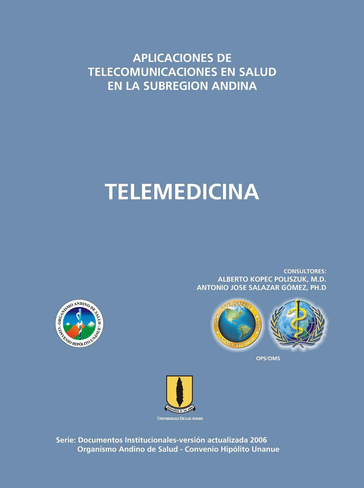 Calaméo - APLICACIONES DE TELECOMUNICACIONES EN SALUD EN LA ...