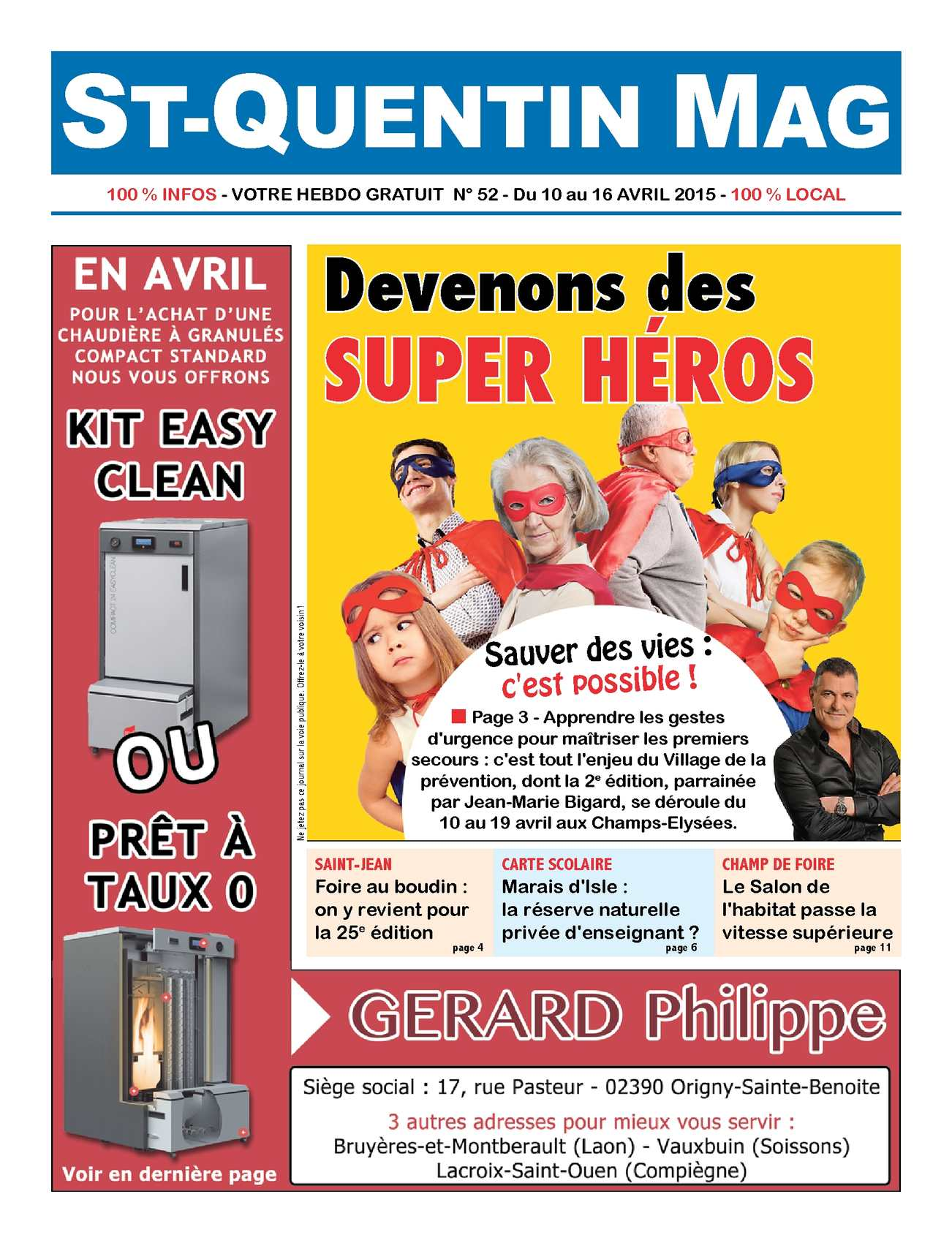 Calam o st quentin mag n 52 for Foire de st quentin