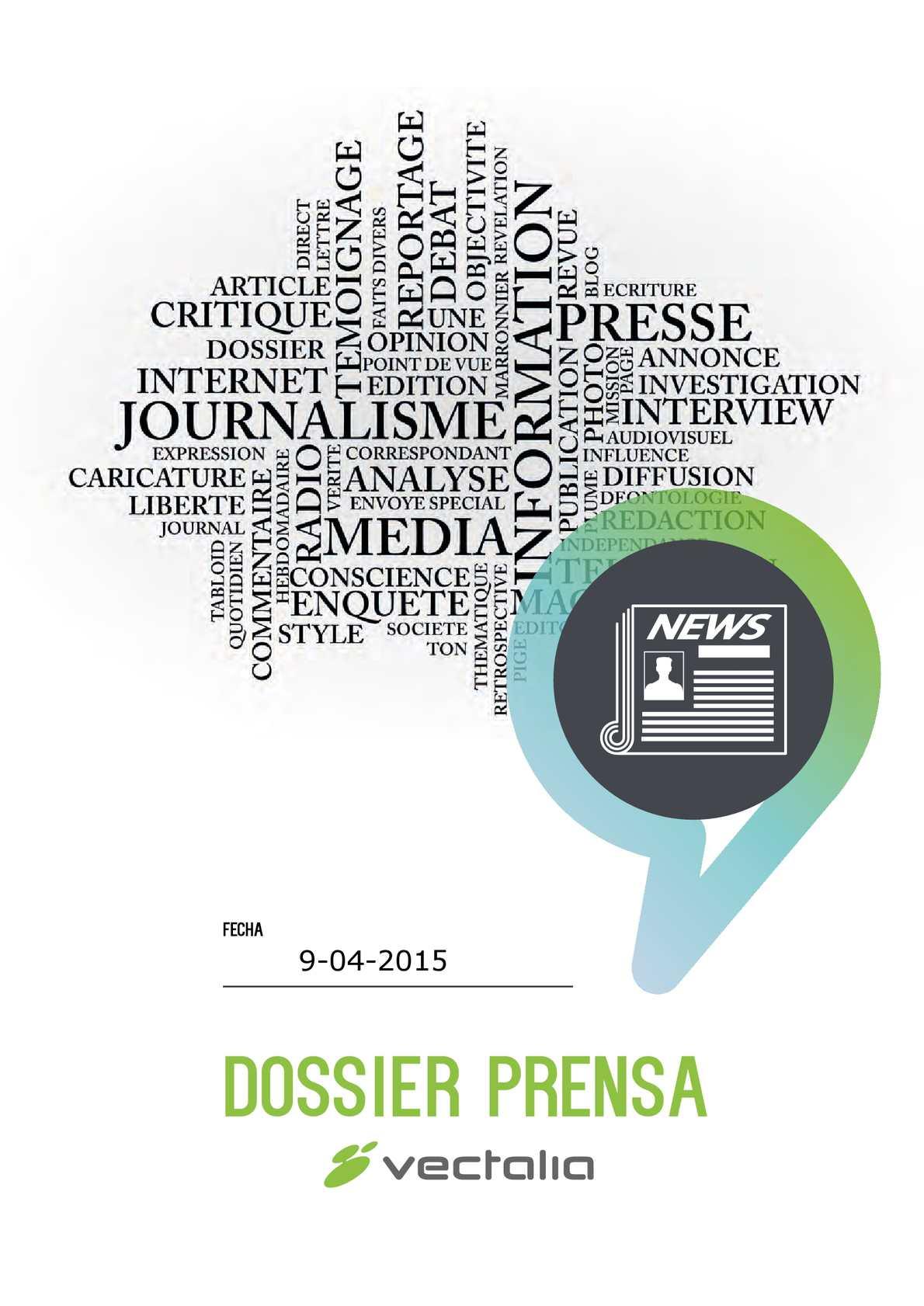 Calaméo - Dossier Prensa; Jueves, 9 De Abril De 2015