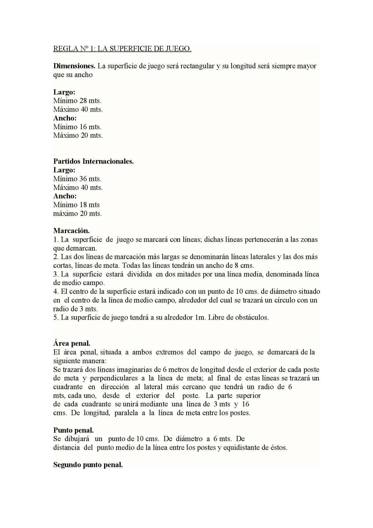 Calaméo - Reglas del Microfútbol