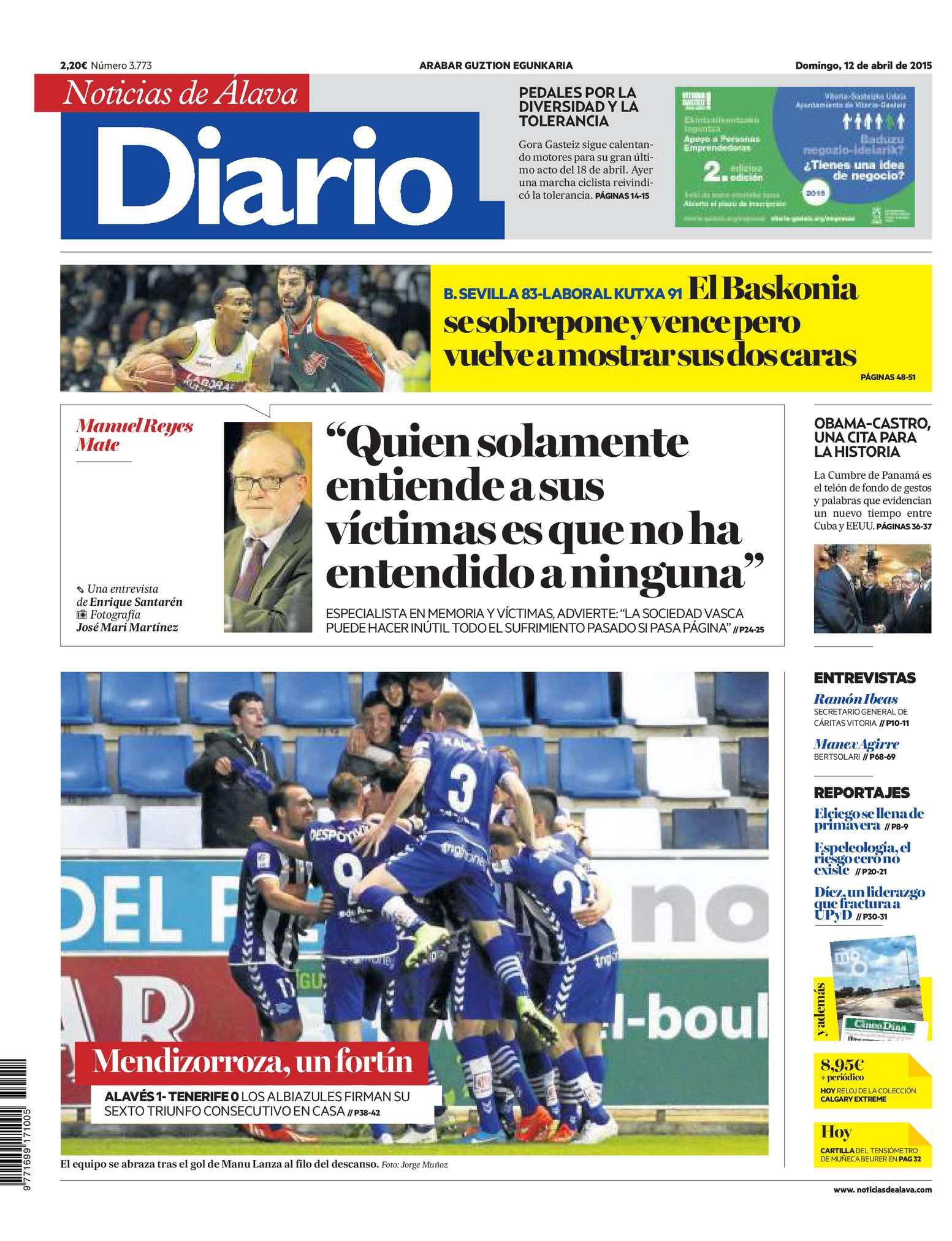 Calaméo - Diario de Noticias de Álava 20150412