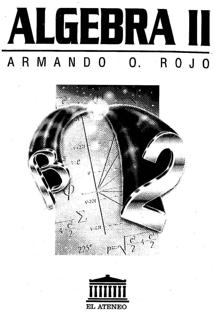 Algebra Ii Armando Rojo
