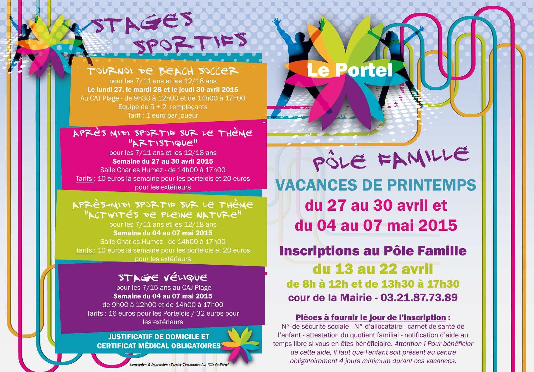 Calaméo - Programme Vacances Printemps 0f043d3136df
