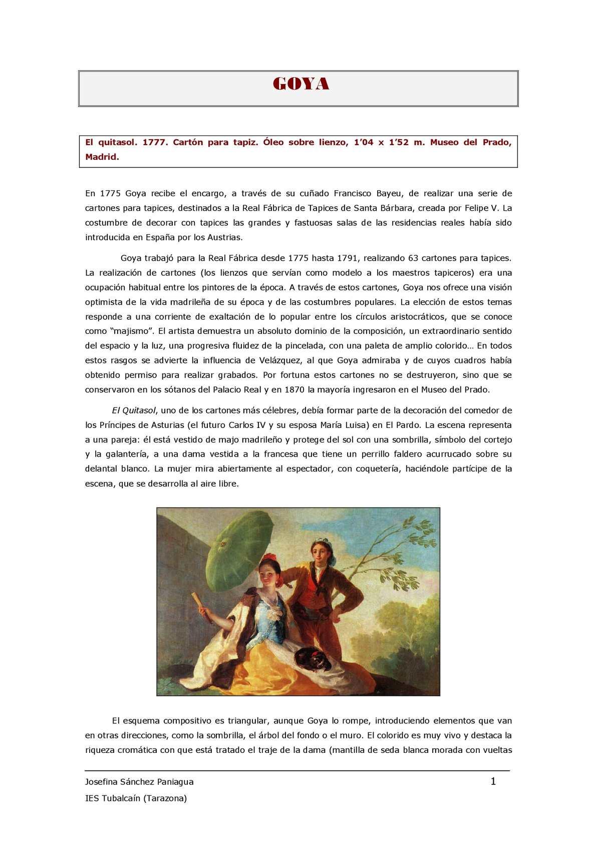 4 Arte Contemporáneo (Incluye Goya)