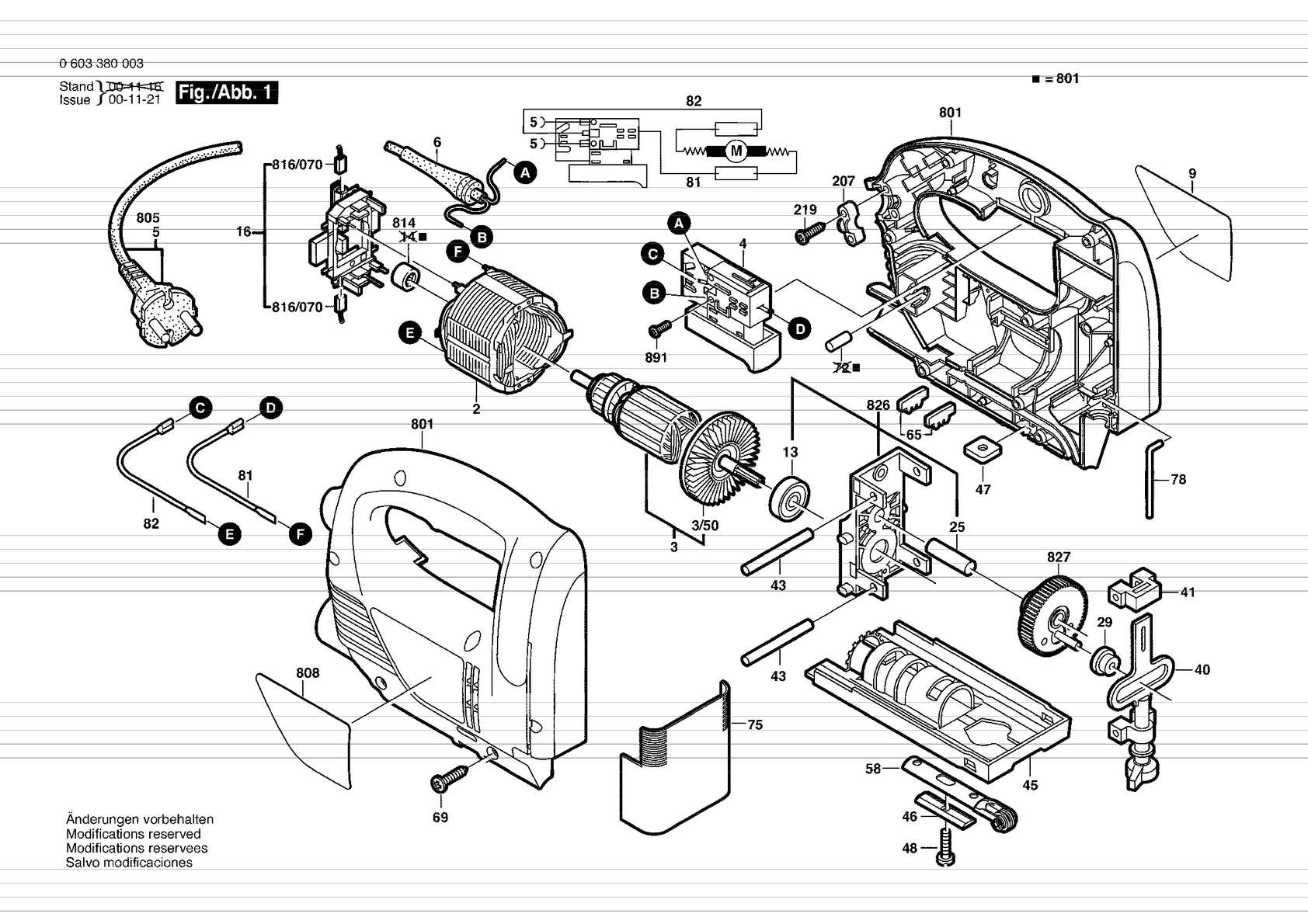PST 650 (арт. 0 603 380 003)