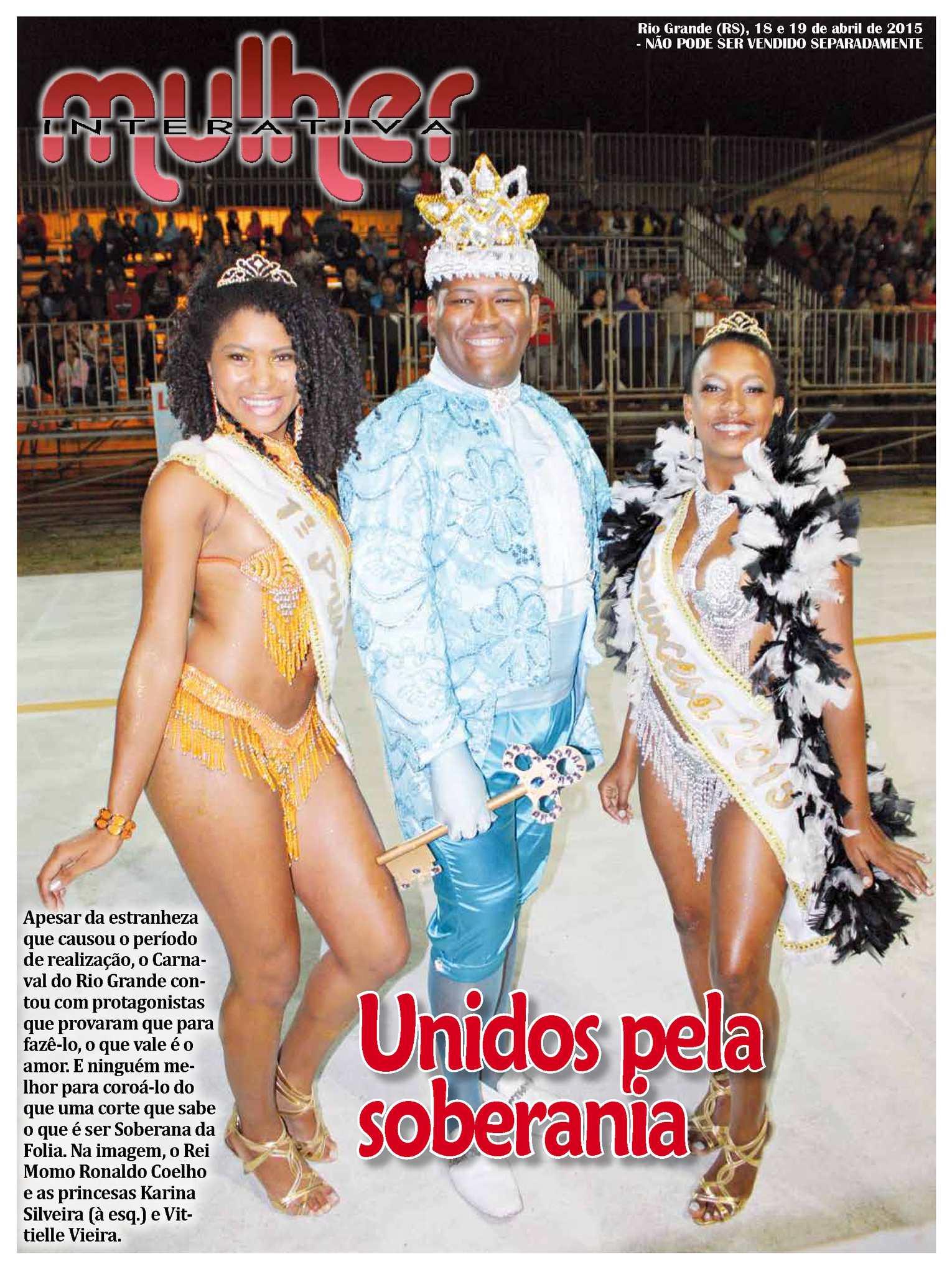 Jornal Agora - Edição 11123 - Mulher Interativa - 18 e 19 de Abril de 2015