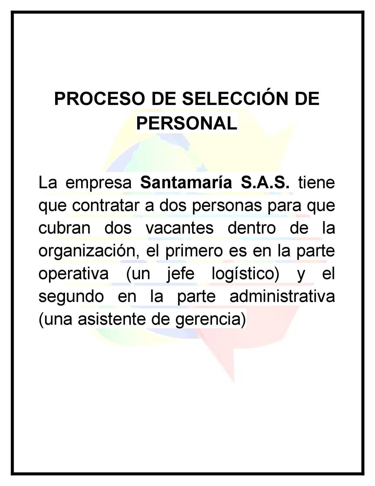 Calaméo - Proceso De Selección De Personal