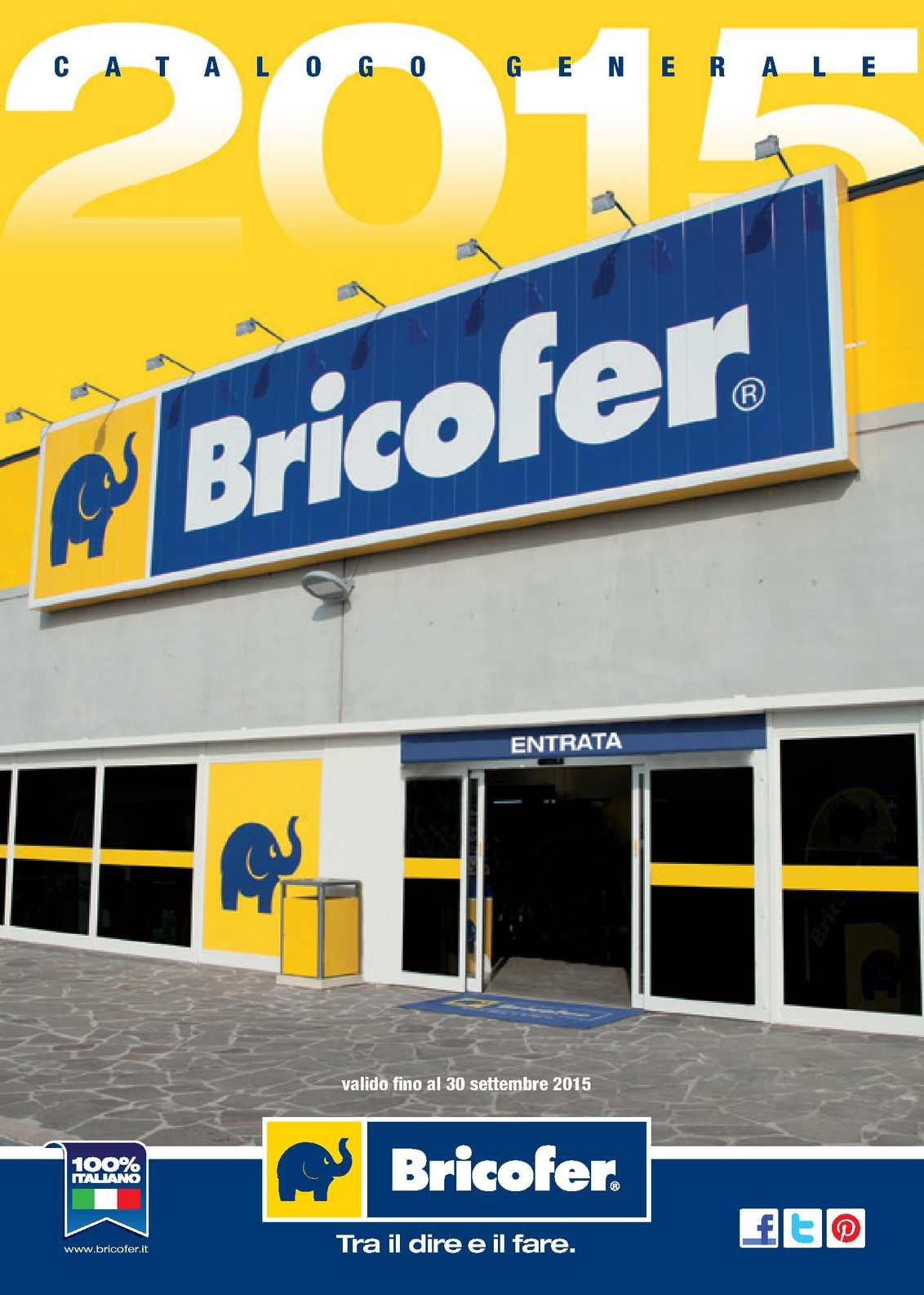 Calam o catalogo bricofer fino al 30 settembre for Bricofer catalogo