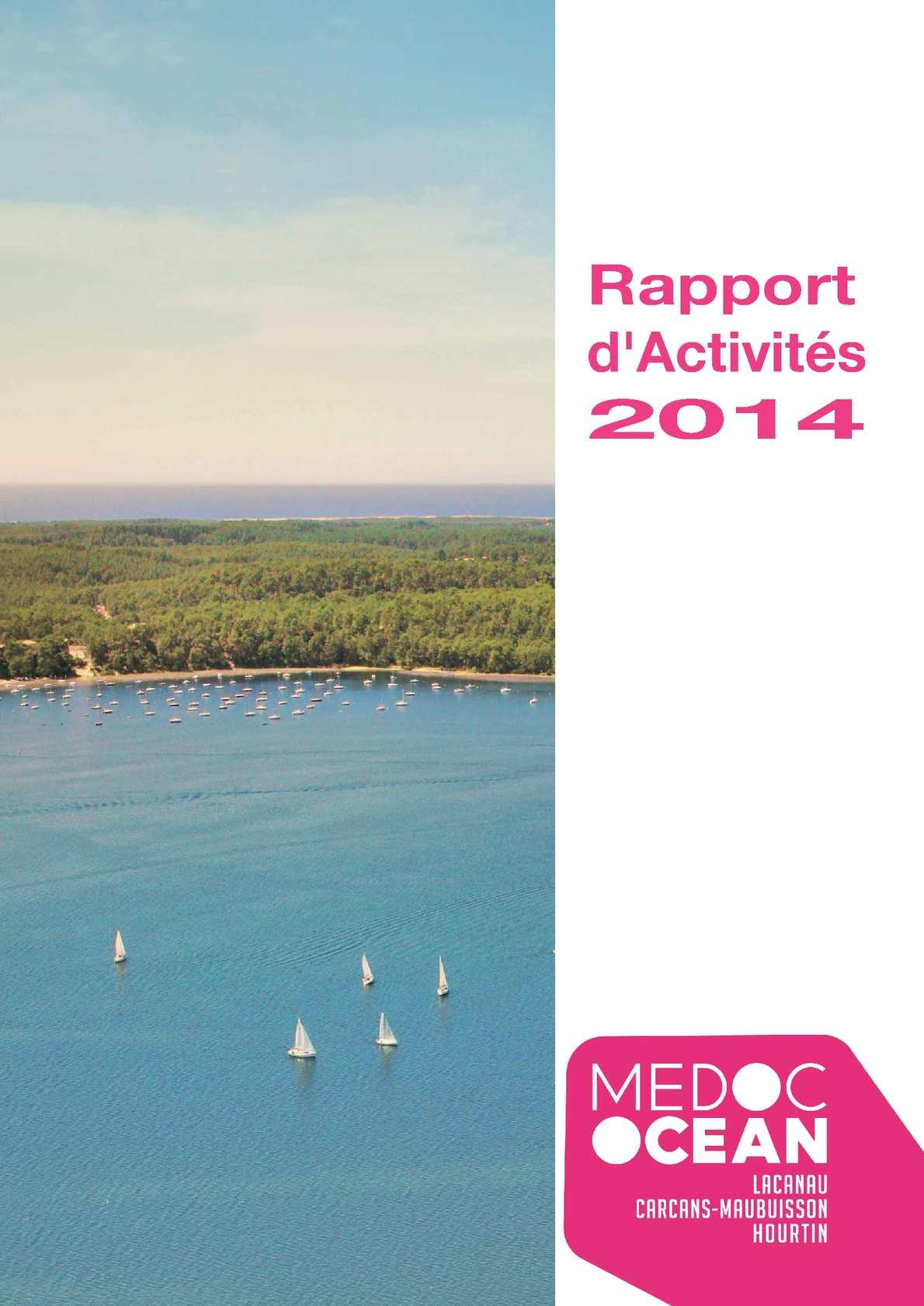 Calam o rapport d activites medoc ocean 2014 - Office de tourisme de carcans ...